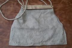 Plátěná taška. 15. stol.